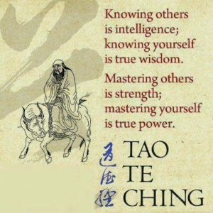 knowing yourself is wisdom
