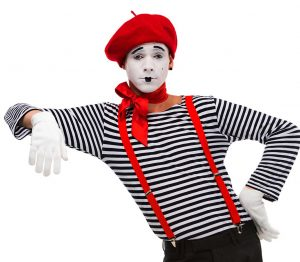 I learned miming for 3 years mime