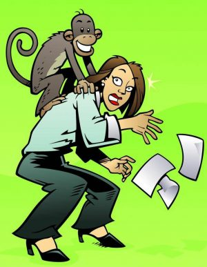 monkey off your back