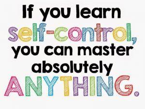 self-control is a linchpin skill