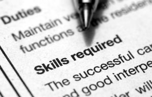 no skills? every job requires skills