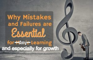 failures are necessary for growth
