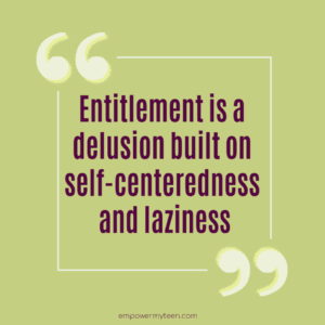 entitlement is in the genes