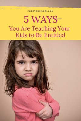entitlement is not a character defect