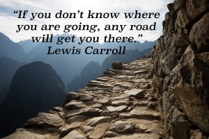 if you don't know where you are going