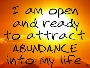 manipulating you to look outside of your self for the source of abundance