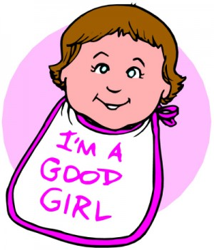 15_im a good girl bib