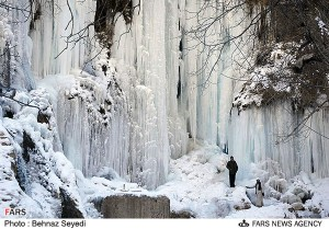 frozen waterfall... the flow of life is interrupted... let go