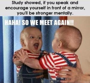 Baby-mirror-exercise