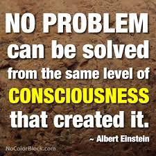 einstein quote on consciousness