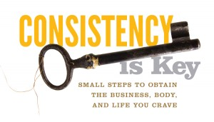 consistency is both a being and an attitude