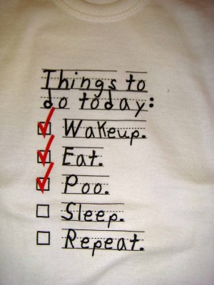 have to do today