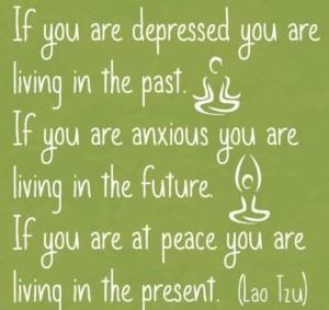 anxious,depressed, peaceful