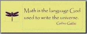 math-is-the-language-of-god