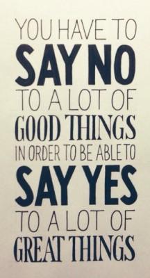 on-saying-no