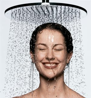 taking-a-shower