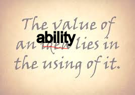 value-ability-using